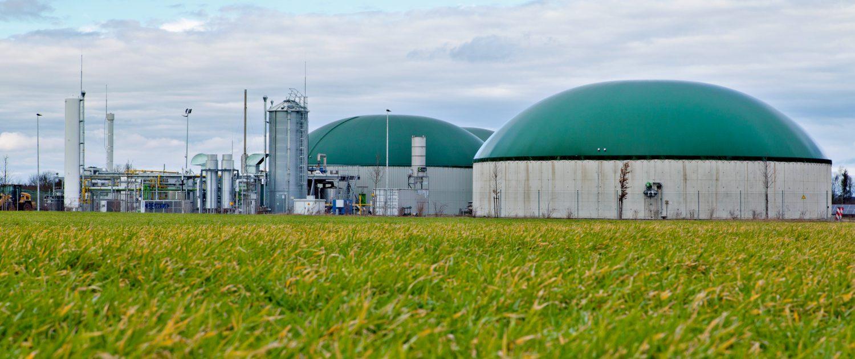 Landwirtschaftliche Biomasseanlage